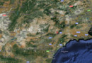 Googlemaps : la région de Lorca, en Espagne
