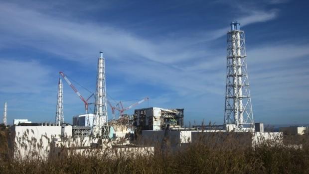 La centrale nucléaire endommagée de Fukushima, en novembre 2011