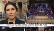 Prêtre égorgé : Hollande, Valls, Sarkozy... tous réunis à la messe à Notre-Dame-de-Paris