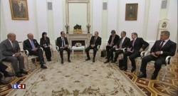 """Rencontre Hollande-Poutine à Moscou : vers une """"grande coalition contre le terrorisme"""""""