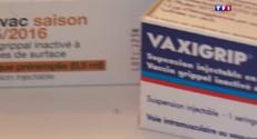 Grippe : les premiers patients de l'hiver prêts à se faire vacciner