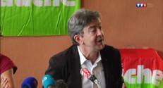 """Le 20 heures du 22 août 2014 : M�nchon quitte la copr�dence du Parti de gauche mais """"continue le combat"""" - 1081.982146118164"""