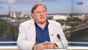 Gérard Depardieu s'est livré à Claire Chazal dans une interview exclusive diffusée le 16 juin 2013.