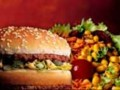 hamburger salade nourriture fast food big mac repas DR: McDONALD'S