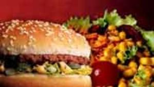 hamburger salade nourriture fast food big mac repas DR: McDONALD'S