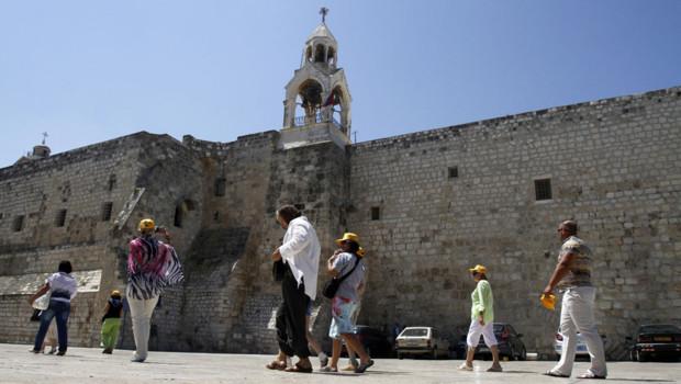 L'Unesco inscrit la Nativité de Bethléem au Patrimoine mondial le 29 juin 2012