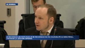 Les premiers mots de Breivik à son procès