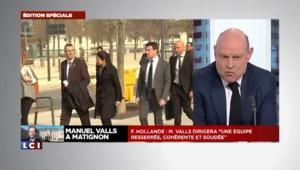 Valls à Matignon : les réactions de Mélenchon, Copé, Le Pen, Le Guen