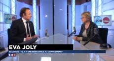 """EELV-PS : """"Revenir au gouvernement pourquoi faire ?"""", s'interroge Eva Joly"""