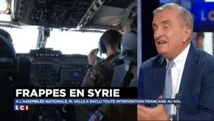 """Frappes aériennes contre Daech : """"gagner du temps"""""""