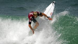 Le surfeur australien Mick Fanning au Brésil, en mai 2015