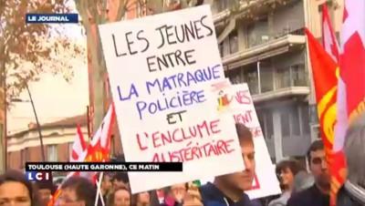 Mort de Rémi Fraisse : A Toulouse entre 500 et 600 personnes mobilisées dans le calme