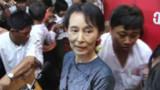 Aung San Suu Kyi plaide pour la démocratie en Birmanie