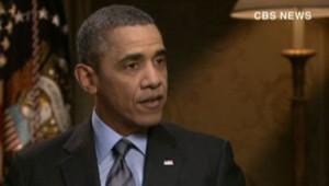 Barack Obama, sur CBS, le 28/3/14
