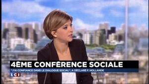 """Conférence sociale : """"La confiance n'est pas là"""""""