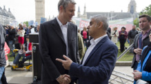 Londres mairie maire Sadiq Khan Zac Goldsmith