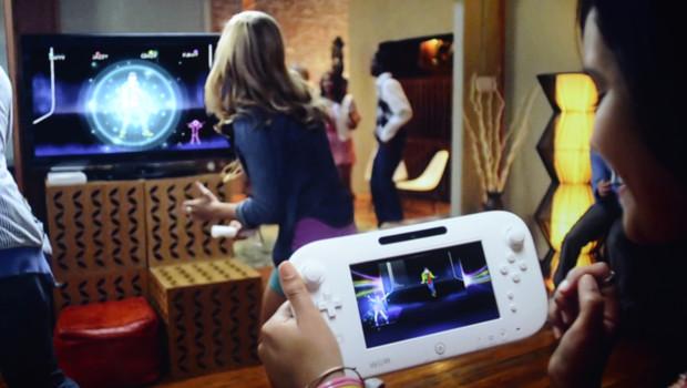 Présentation de la WiiU lors du salon E3 des jeux vdéo à Los Angeles le 5 juin 2012.