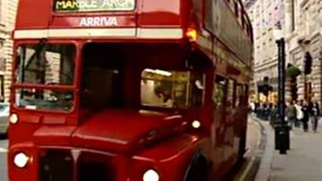 TF1/LCI : Bus à impériale à Londres