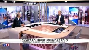 """Bruno Le Roux : """"Cette nuit encore, nous avons frappé Daech"""""""