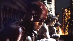 Daredevil. Adaptation cinématographique du super-héros de Marvel Comics. Avec Ben Affleck dans le rôle principal.