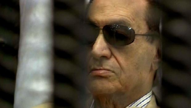 Hosni Moubarak, le 2 juin 2012