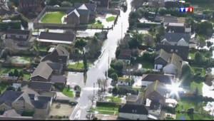 Le 20 heures du 15 février 2014 : La Grande-Bretagne �lement victime de la temp� Ulla - 0