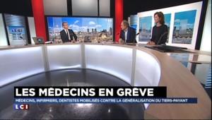 """Loi Touraine : """"Pour que les médecins fassent grève, il faut vraiment avoir chargé la barque"""""""