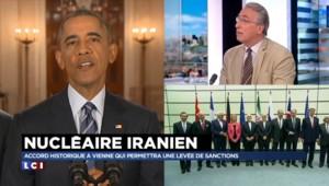 """Nucléaire iranien : """"On va peut-être vers une normalisation"""" entre l'Iran et l'Occident"""