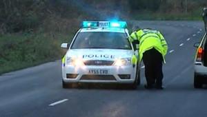 TF1/LCI : Véhicule de la police britannique