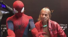 Alain Robert et Spider-man