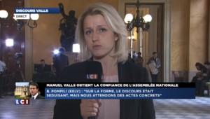 """Discours de Valls : """"sur la forme, un discours séduisant"""", pour Pompili"""