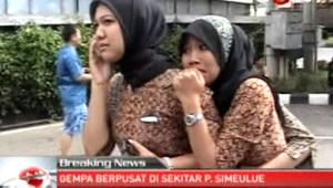 Le séisme au large de Sumatra le 11 avril 2012