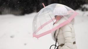 A Caen, il fallait sortir couvert pour affronter ler blizzard et les températures négatives.