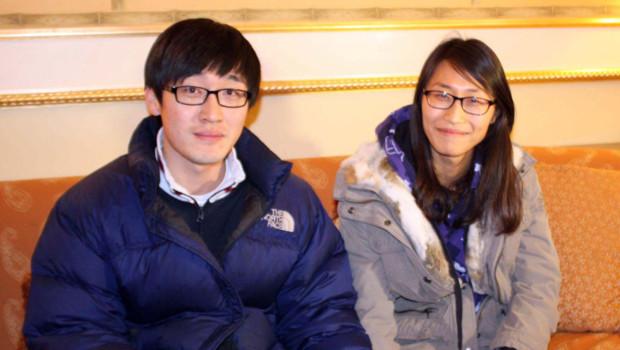 Han Ki-Deok et sa jeune épouse, Jeong Hye-Jin, miraculés du  naufrage