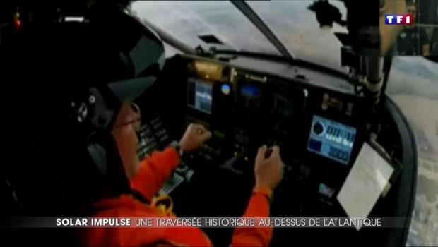 L'avion Solar Impulse fait le tour du monde sans carburant