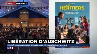 """Libération d'Auschwitz : Ahmed Dramé du film """"Les Héritiers"""" évoque la transmission de mémoire"""