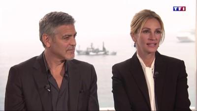"""""""Money Monster"""" : Julia Roberts et Georges Clooney invités du 20h de TF1"""