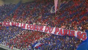 TF1/LCI : La foule des supporters du PSG au stade du Parc des Princes