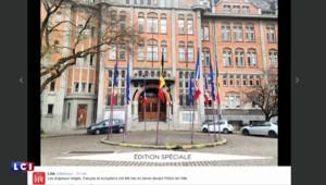 Attentats à Bruxelles : les drapeaux en berne à l'Élysée