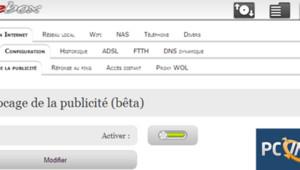 Capture des paramètres de la Freebox par PC INpact