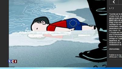 La mort du petit Aylan émeut la Toile