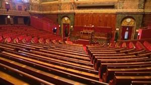 La salle du Congrès, à Versailles