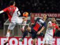 Le Monégasque Carvalho face au Parisien Ibrahimovic