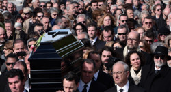 Les funérailles de Demis Roussos le 30 janvier 2015 à Athènes
