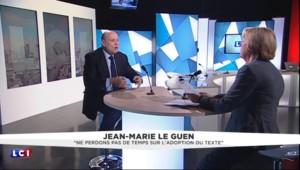 """Déchéance de nationalité : """"Aucun problème avec Christiane Taubira"""" indique Le Guen"""