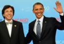 Elio di Rupo et Barack Obama.