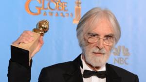 Le réalisateur Haneke et son Golden Globe du meilleur film étranger pour Amour