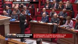 """Manuel Valls : """"Les Français attendent de nous cette union sacrée"""""""
