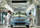 Une usine chinoise du constructeur français PSA Peugeot-Citrën.