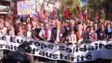 Paris : des milliers de manifestants contre le traité européen